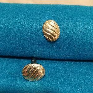 Men's gold like cufflinks